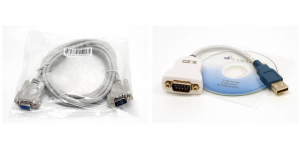 PACKAGE: Easyfield® USB to Serial Adapter for Laptop or PC + Easyfield® Interface Cable, Bowl to PC
